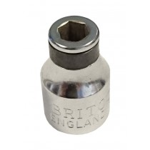 BRITOOL HALLMARK M1UBA 3/8SD BIT ADAPTOR SOCKET FOR 1/4 INCH BITS