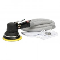 AIR RANDOM ORBITAL SANDER 150MM DUST-FREE SELF-CONTAINED FROM SEALEY