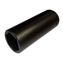 3/8 INCH SD AF 9/16 INCH DEEP HEXAGON IMPACT SOCKET, LENGTH 55MM FROM BRITOOL HALLMARK MDHP562