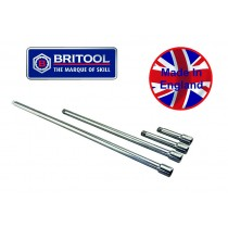 "BRITOOL ENGLAND 3/8"" SQ DR FIXED EXTENSION BAR SET"