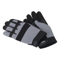 SEALEY MG799XL MECHANIC'S GLOVES PADDED PALM - EXTRA LARGE