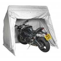 SEALEY MS067 MOTORCYCLE STORAGE SHELTER LARGE WITH SOLAR PANEL POCKET