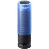 "FACOM TOOLS 1/2"" DRIVE ALLOY WHEEL DEEP IMAPCT SOCKET 17MM NSI.17L"