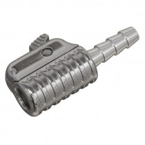 SEALEY STRAIGHT SWIVEL TYRE INFLATOR CLIP-ON CONNECTOR 6MM BORE