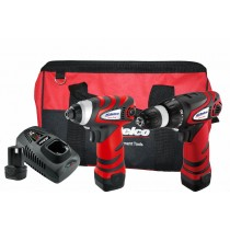10.8V IMPACT DRIVER & DRILL KIT FROM ACDELCO