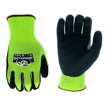 OCTOGRIP CUT RESISTANT WORK GLOVES SIZE LARGE