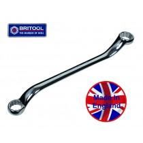 BRITOOL ENGLAND Long Bi-Hexagon Ring Spanner 30 x 32mm