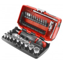 "1/4"" SQ. DRIVE METRIC SOCKET SET FACOM TOOLS RL.NANO112"