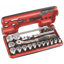"1/2"" SQ DR SOCKET, RATCHET AND ACCESSORY SET FACOM S.360DBOX1"