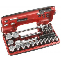 FACOM TOOLS SL.DBOX4 1/2 INCH SOCKET SET