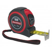 HEAVY-DUTY MEASURING TAPE 5MTR(16FT) FROM SEALEY SMT5H SYSP