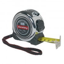 PROFESSIONAL MEASURING TAPE 5M(16FT) FROM SEALEY