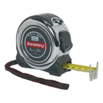 PROFESSIONAL MEASURING TAPE 8M(26FT) FROM SEALEY