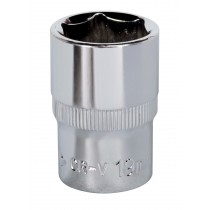 "SOCKET 19MM 1/2""SQ DRIVE FULLY POLISHED FROM SEALEY SP1219 SYSP"