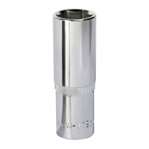"SOCKET 19MM DEEP 1/2""SQ DRIVE FULLY POLISHED FROM SEALEY SP1219D SYSP"
