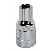 "SOCKET 5MM 1/4""SQ DRIVE FULLY POLISHED FROM SEALEY SP1405 SYSP"