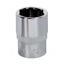 SEALEY SP1413 WALLDRIVE SOCKET 13MM 1/4 INCH SQ DRIVE FULLY POLISHED