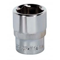 SEALEY SP1414 WALLDRIVE SOCKET 14MM 1/4 INCH SQ DRIVE FULLY POLISHED