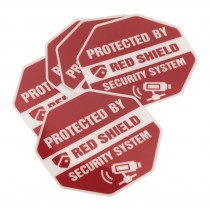 SECURITY DECAL PACK OF 5 FROM SEALEY SSA01 SYSP