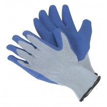 LATEX KNITTED WRIST GLOVES - LARGE FROM SEALEY SSP48 SYSP