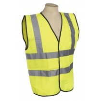 HIGH VISIBILITY WAISTCOAT BS EN 471 LARGE FROM SEALEY SSPHV-L SYSP