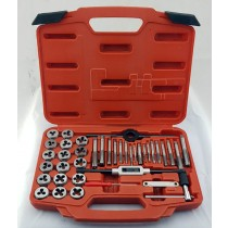 39PC TAP & DIE SET PROFESSIONAL QUALITY FROM CUSTOR TOOLS