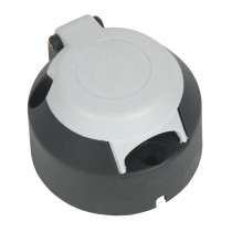 SEALEY TB071 TOWING SOCKET S-TYPE PLASTIC 12V