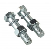 TOW BALL BOLTS & NUTS M16 X 75MM PACK OF 2 FROM SEALEY TB26 SYSP
