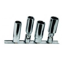 "3/8"" SQ. DR. 4PC SPARK PLUG SOCKET SET"