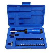 **CLEARANCE** 29PC GEARLESS RATCHET SCREWDRIVER SET WITH BITS