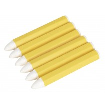 TYRE MARKING CRAYON - WHITE PACK OF 6 FROM SEALEY TST13 SYSP