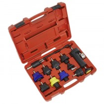 SEALEY COOLING SYSTEM PRESSURE TEST KIT 10PC