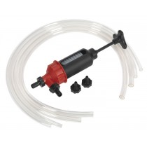 TRANSFER SYPHON PUMP FOR OIL, PETROL & DIESEL FROM SEALEY VS560