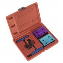 SEALEY VSE2510 PETROL ENGINE SETTING/LOCKING COMBINATION KIT - ALFA ROMEO 1.4, 1.6, 1.8, 2.0 16V TWIN CAM - BELT DRIVE