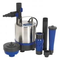 SEALEY SUBMERSIBLE POND PUMP STAINLESS STEEL 3000L/HR 230V