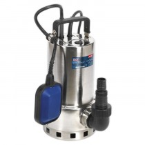 SEALEY SUBMERSIBLE STAINLESS WATER PUMP AUTOMATIC DIRTY WATER 225L/MIN 230V