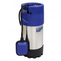 SEALEY SUBMERSIBLE STAINLESS WATER PUMP AUTOMATIC 92L/MIN 40M HEAD 230V
