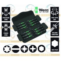 WERA 12PC PRECISION SCREWDRIVER SET WITH SLOTTED, PH, HEX & TORX