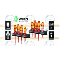 WERA BIG PACK 14PC VDE SCREWDRIVER SET SL, PH, PZ , TX WITH RACKS
