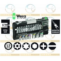 38PC TOOL-CHECK AUTOMOTIVE / BIKE TOOLKIT WITH SOCKETS & BITS SET FROM WERA TOOLS
