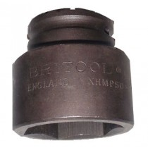 "BRITOOL ENGLAND 3/4"" HEXAGON IMPACT SOCKET 50MM XHMP50"