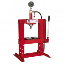 HYDRAULIC PRESS 10TONNE BENCH TYPE FROM SEALEY