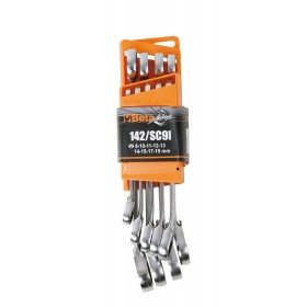 BETA TOOLS 142/SC9I 9PC REVERSIBLE RATCHETING WRENCH SET 001420087