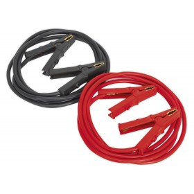 HEAVY-DUTY BOOSTER CABLES 40MM² X 5MTR CCA 600AMP FROM SEALEY BC4050HD SYD
