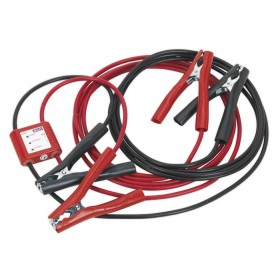 BOOSTER CABLES 5MTR 400AMP 20MM² WITH 12V ELECTRONICS PROTECTION SEALEY PROJ/12 SYD