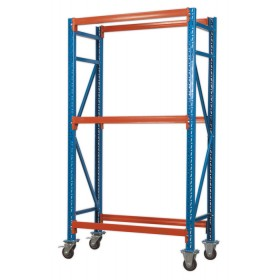TWO LEVEL MOBILE TYRE RACK 200KG CAPACITY PER LEVEL FROM SEALEY STR002 SYD