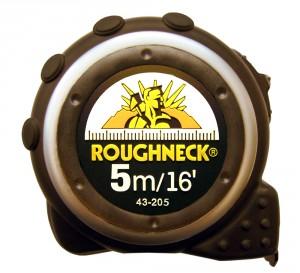 TAPE MEASURE 5 METERS METRIC & IMPERIAL ROUGHNECK 43-205
