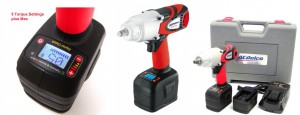 "CORDLESS 1/2"" IMPACT WRENCH WITH DIGITAL CLUTCH ACDELCO"