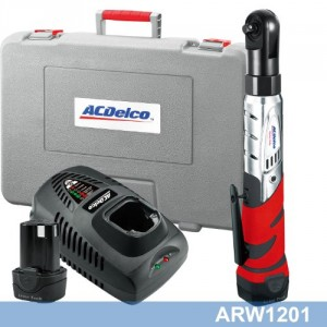 CORDLESS RATCHET KIT 10.8V FROM ACDELCO TOOLS ARW1201AEU