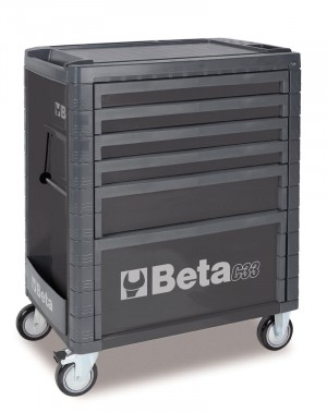 6 DRAWER ROLL CAB TOOLBOX FROM BETA - GREY